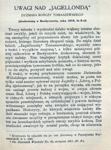 """9 pav. Mickiewicz, Ada. """"Dzieła wszystkie Adama Mickiewicza"""" (ištrauka, Lwow, 1911)."""