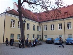 14 pav. Adomo Mickevičiaus kiemas Vilniaus universitete (Pilies g. 13 g.)