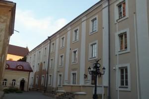 31 pav. Bazilijonų vienuolyno pastatas buvo ne kartą pertvarkomas, ilgainiui pradėta diskutuoti dėl vietos, kur buvo kamera, kurioje kalėjo poetas.