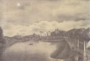 38 pav. Juozapas Ozemblovskis. Antakalnis. 1835. Litografija