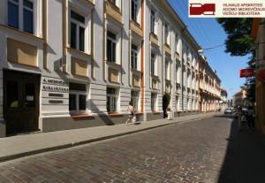 21 pav. Vilniaus apskrities Adomo Mickevičiaus viešoji biblioteka (Trakų g. 10)